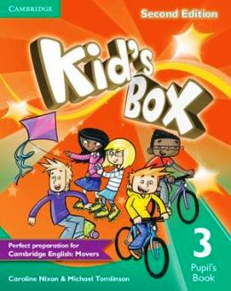 KID'S BOX 2ND EDITION 3 PUPIL'S BOOK