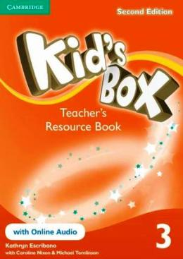 KID'S BOX 2ND EDITION 3 TEACHER'S RES. BOOK WITH ONLINE AUDIO
