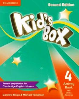 KID'S BOX 2ND EDITION 4 ACTIVITY BOOK WITH ONLINE RESOURCES