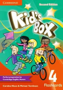 KID'S BOX 2ND EDITION 4 FLASHCARDS