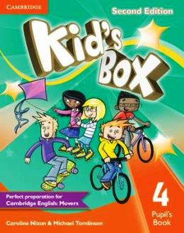 KID'S BOX 2ND EDITION 4 PUPIL'S BOOK