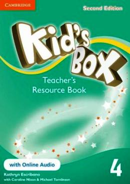 KID'S BOX 2ND EDITION 4 TEACHER'S RES. BOOK WITH ONLINE AUDIO