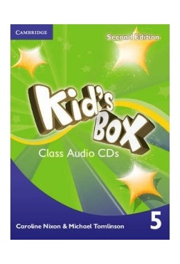 KID'S BOX 2ND EDITION 5 CLASS AUDIO CDs (SET 3 CD)