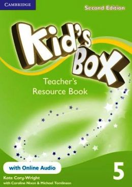 KID'S BOX 2ND EDITION 5 TEACHER'S RES. BOOK WITH ONLINE AUDIO