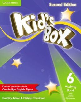 KID'S BOX 2ND EDITION 6 ACTIVITY BOOK WITH ONLINE RESOURCES