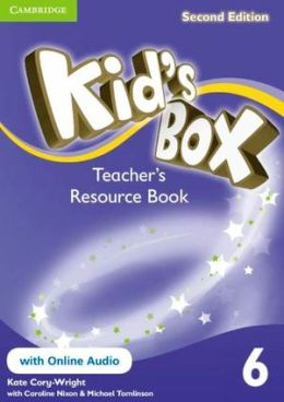 KID'S BOX 2ND EDITION 6 TEACHER'S RES. BOOK WITH ONLINE AUDIO
