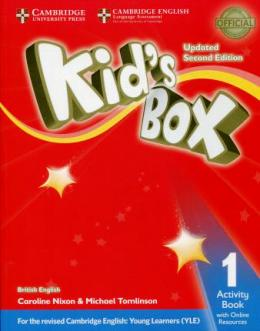 KID'S BOX UPDATED 2ND ED. 1 ACTIVITY BOOK WITH ONLINE RESOURCES