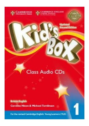 KID'S BOX UPDATED 2ND ED. 1 CLASS AUDIO CDs (SET OF 4)