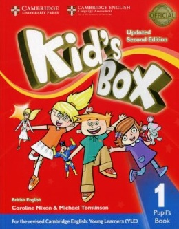 KID'S BOX UPDATED 2ND ED. 1 PUPIL'S BOOK