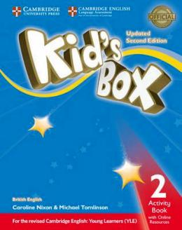 KID'S BOX UPDATED 2ND ED. 2 ACTIVITY BOOK WITH ONLINE RESOURCES