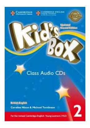 KID'S BOX UPDATED 2ND ED. 2 CLASS AUDIO CDs (SET OF 4)