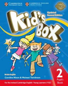 KID'S BOX UPDATED 2ND ED. 2 PUPIL'S BOOK