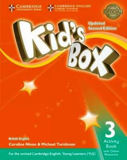 KID'S BOX UPDATED 2ND ED. 3 ACTIVITY BOOK WITH ONLINE RESOURCES