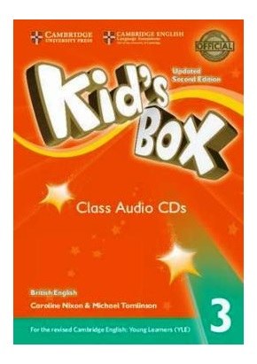 KID'S BOX UPDATED 2ND ED. 3 CLASS AUDIO CDs (SET OF 3)