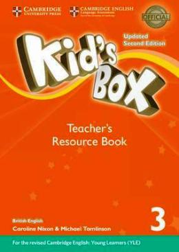 KID'S BOX UPDATED 2ND ED. 3 TEACHER'S RESOURCE BOOK PACK