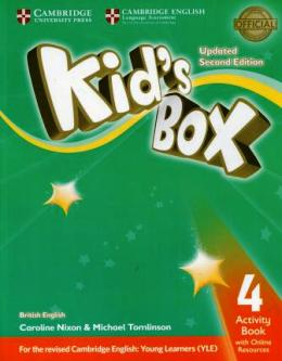 KID'S BOX UPDATED 2ND ED. 4 ACTIVITY BOOK WITH ONLINE RESOURCES
