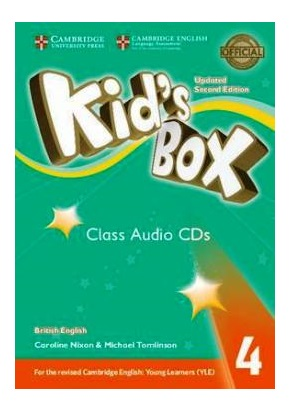 KID'S BOX UPDATED 2ND ED. 4 CLASS AUDIO CDs (SET OF 3)