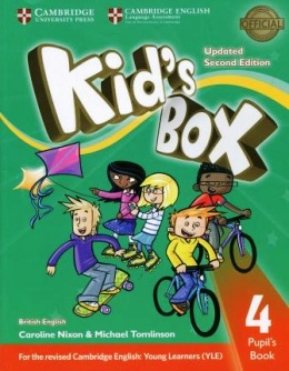 KID'S BOX UPDATED 2ND ED. 4 PUPIL'S BOOK