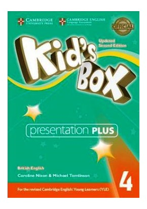KID'S BOX UPDATED 2ND ED. 4 PRESENTATION PLUS DVD-ROM