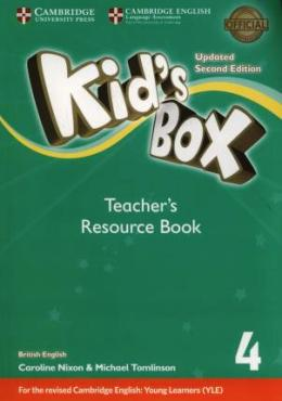 KID'S BOX UPDATED 2ND ED. 4 TEACHER'S RESOURCE BOOK PACK