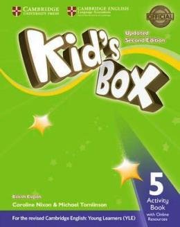 KID'S BOX UPDATED 2ND ED. 5 ACTIVITY BOOK WITH ONLINE RESOURCES