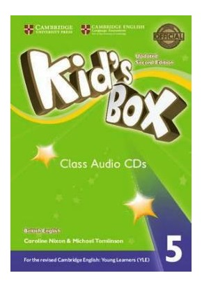 KID'S BOX UPDATED 2ND ED. 5 CLASS AUDIO CDs (SET OF 3)