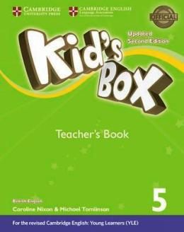 KID'S BOX UPDATED 2ND ED. 5 TEACHER'S BOOK