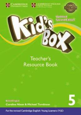 KID'S BOX UPDATED 2ND ED. 5 TEACHER'S RESOURCE BOOK PACK