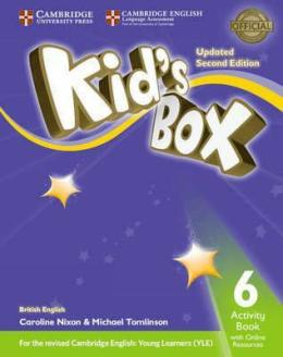 KID'S BOX UPDATED 2ND ED. 6 ACTIVITY BOOK WITH ONLINE RESOURCES