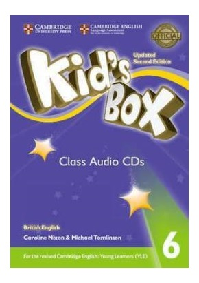 KID'S BOX UPDATED 2ND ED. 6 CLASS AUDIO CDs (SET OF 4)