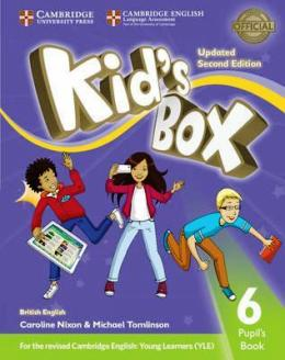 KID'S BOX UPDATED 2ND ED. 6 PUPIL'S BOOK
