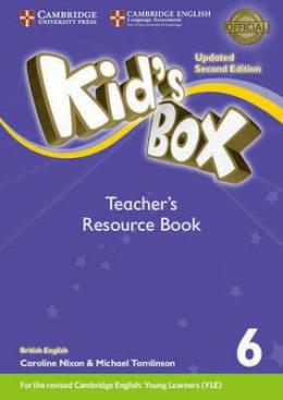 KID'S BOX UPDATED 2ND ED. 6 TEACHER'S RESOURCE BOOK PACK