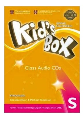 KID'S BOX UPDATED 2ND ED. STARTER CLASS AUDIO CDs (SET OF 2)