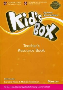 KID'S BOX UPDATED 2ND ED. STARTER TEACHER'S RESOURCE BOOK PACK