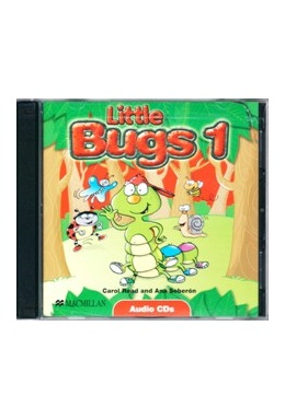 LITTLE BUGS 1 CLASS AUDIO CDs (SET 2 CD)