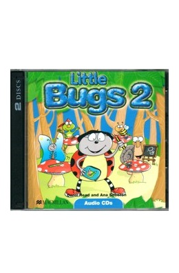 LITTLE BUGS 2 CLASS AUDIO CDs (SET 2 CD)