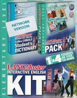 LANGMASTER INTERACTIVE ENGLISH KIT ELEMENTARY (SET 5 CD)