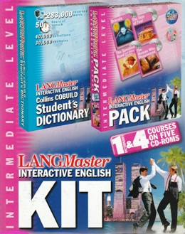 LANGMASTER INTERACTIVE ENGLISH KIT INTERMEDIATE (SET 5 CD)