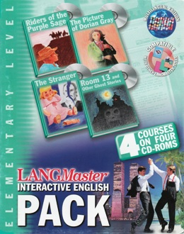 LANGMASTER INTERACTIVE ENGLISH PACK ELEMENTARY (SET 4 CD)