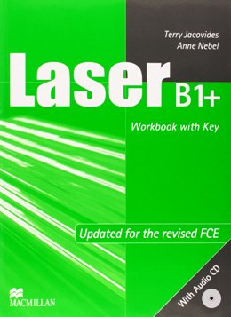 LASER 2ND EDITION B1+ WORKBOOK WITH KEY & AUDIO CD