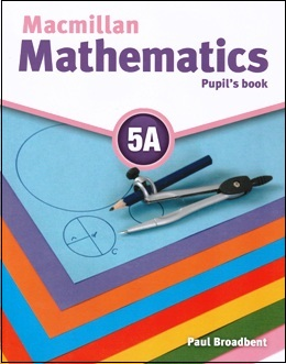 MACMILLAN MATHEMATICS 5A PUPIL'S BOOK WITH CD-ROM