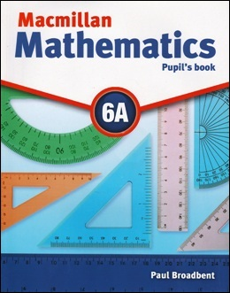 MACMILLAN MATHEMATICS 6A PUPIL'S BOOK WITH CD-ROM