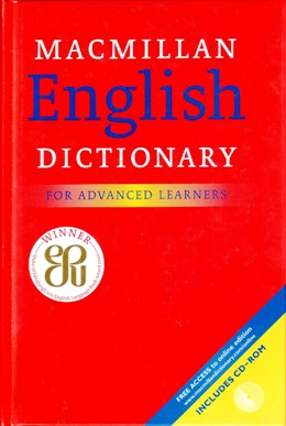MACMILLAN ENGLISH DICTIONARY FOR ADV. LEARNERS HB WITH CD-ROM