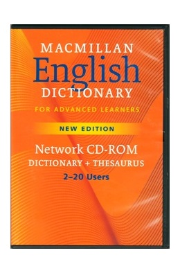 MACMILLAN ENG. DIC. FOR ADV. LEARNERS NEW ED. NETWORK CD-ROM - DICTIONARY + THESAURUS, 2-20 USERS