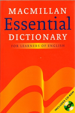 MACMILLAN ESSENTIAL DICTIONARY FOR LEARNERS OF ENGLISH WITH CD-ROM