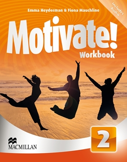 MOTIVATE! 2 WORKBOOK WITH AUDIO CD