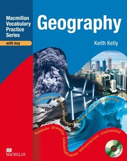 MACMILLAN VOCABULARY PRACTICE SERIES GEOGRAPHY WITH KEY & CD-ROM