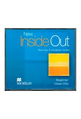 NEW INSIDE OUT BEGINNER CLASS CDs (SET 3 CD)