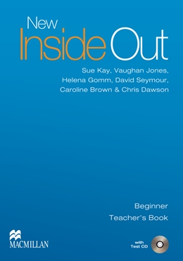 NEW INSIDE OUT BEGINNER TEACHER'S BOOK WITH TEST CD