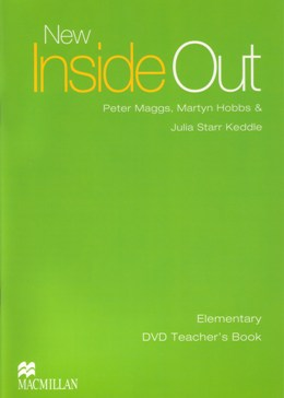 NEW INSIDE OUT ELEMENTARY DVD TEACHER'S BOOK